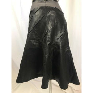 Free People Skirts - Free People About A Girl Faux Leather Mini Sz 10